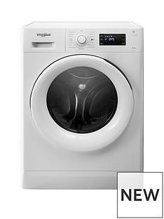 Whirlpool Freshcare FWDG86148W 8kg Wash, 6kg Dry, 1400 Spin Washer Dryer - White
