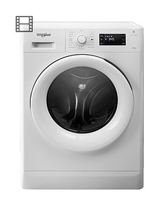 Whirlpool Freshcare FWDG86148W 8kg Wash, 6kg Dry, 1400 Spin Washer Dryer - White