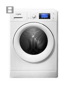 Whirlpool Freshcare FWDD1071681W 10kg Wash, 7kg Dry 1600 Spin Washer Dryer - White