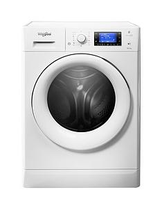 Whirlpool Freshcare FWDG86148W 10kg Wash, 7kg Dry 1600 Spin Washer Dryer - White