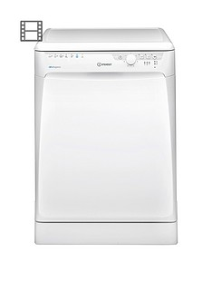 Indesit Extra DFP27T94ZUK Full Size 14-Place Dishwasher - White Best Price, Cheapest Prices