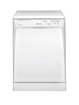 Indesit Dfp27T94Zuk Full Size 14-Place Dishwasher With Quick Wash And Baby Care - White Best Price, Cheapest Prices