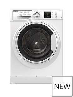 Hotpoint Active Care NM10844WW 8kg Load, 1400 Spin Washing Machine - White