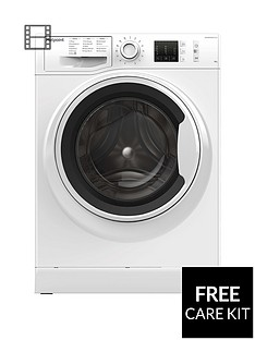 Hotpoint NM10844WW 8kg Load, 1400 Spin Washing Machine - White