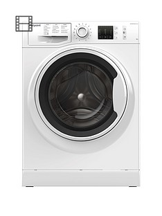 Hotpoint NM10844WW 8kg Load, 1400 Spin Washing Machine - White