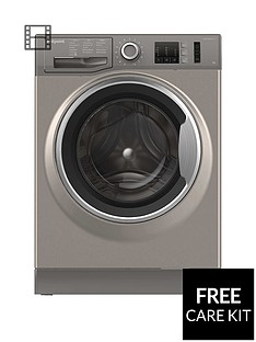 Hotpoint NM10844GS 8kg Load, 1400 Spin Washing Machine - Graphite