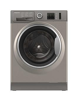 hotpoint-nm10844gs-8kg-load-1400-spin-washing-machine-graphite