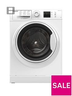 Hotpoint NM10944WW 9kg Load, 1400 Spin Washing Machine - White