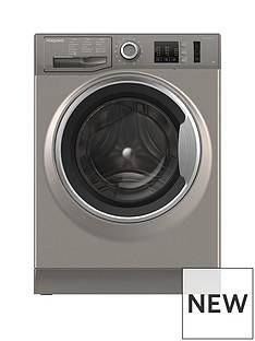 Hotpoint NM10944GS 9kg Load, 1400 Spin Washing Machine - Graphite