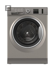 Hotpoint NM10944GS 9kg Load, 1400 Spin Washing Machine - Graphite