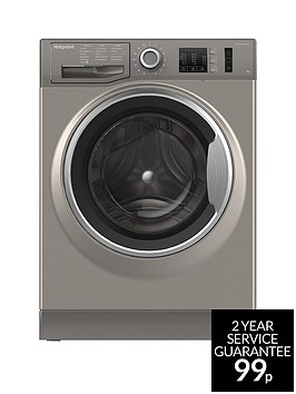 hotpoint-nm10944gs-9kg-load-1400-spin-washing-machine-graphite