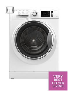 Hotpoint Active Care NM11946WCA 9kg Load, 1400 Spin Washing Machine - White