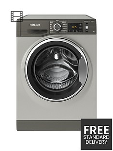 hotpoint-active-care-nm11946gca-9kg-load-1400-spin-washing-machine-graphite