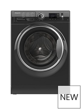 hotpoint-active-care-nm11946bca-9kg-load-1400-spin-washing-machine-black
