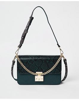 river-island-river-island-snake-print-cross-body-bag-green