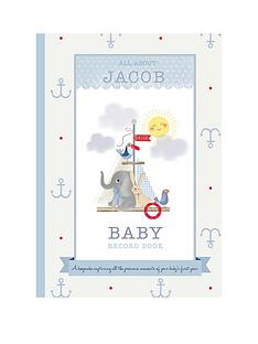 personalised-baby-record-book