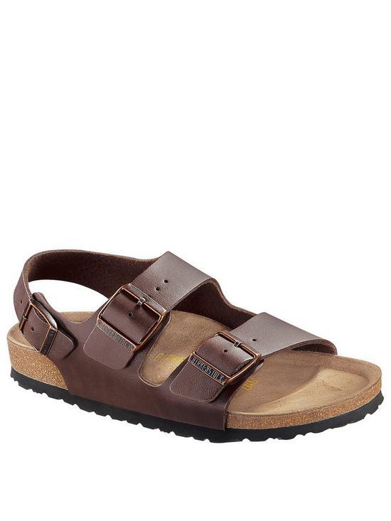 90bcbbdba9f0 Birkenstock Milano Sandals - Dark Brown