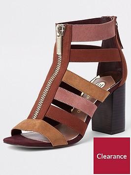 river-island-river-island-cage-strappy-block-heel-sandal-multi