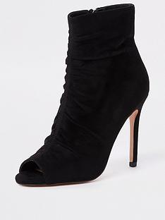 river-island-river-island-rouched-peep-toe-shoe-boot-black