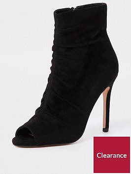 river-island-river-island-rouched-peep-toe-shoe-boot-black