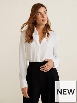 mango-flowy-shirt-white