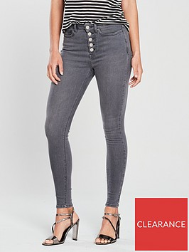 v-by-very-exposed-button-fly-ella-high-waist-skinny-grey