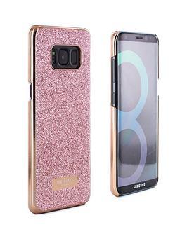 ted-baker-ted-baker-glitter-hard-shell-samsung-galaxy-s8-hedaa-rose-gold
