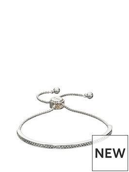 fiorelli-fiorelli-silver-plated-cubic-zirconia-pave-set-bar-toggle-bracelet