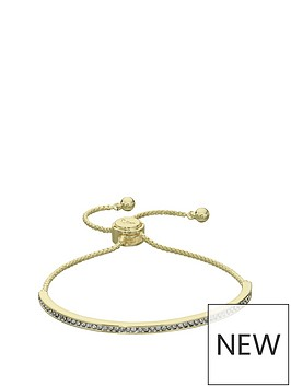 fiorelli-fiorelli-gold-plated-cubic-zirconia-pave-set-bar-toggle-bracelet