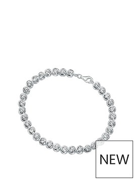 the-love-silver-collection-sterling-silver-amp-cubic-zirconia-tennis-bracelet