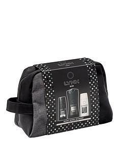 lynx-black-washbag-gift-set