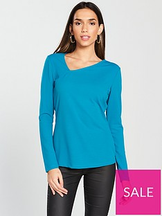 v-by-very-asymmetric-top--nbspturquoise