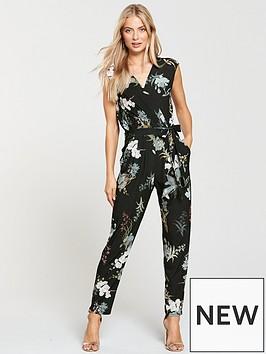 wallis-oriental-bloom-jumpsuit-black