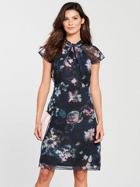 Imogen Floral Print Dress