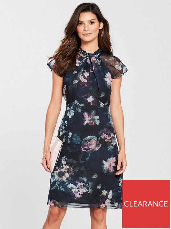 40a5e65ce351 Phase Eight Imogen Floral Print Dress