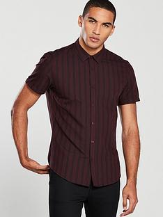 v-by-very-short-sleeve-stripe-shirt-burgundynavy