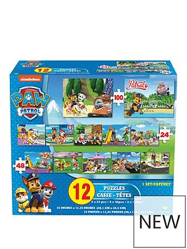 cardinal-paw-patrol-12-in-1-puzzles