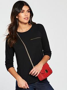 v-by-very-zip-pocket-raglan-tshirt