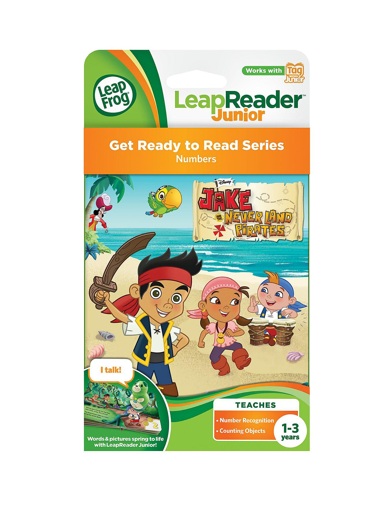 LeapFrog LeapReader Junior Jake and the Neverland Pirates