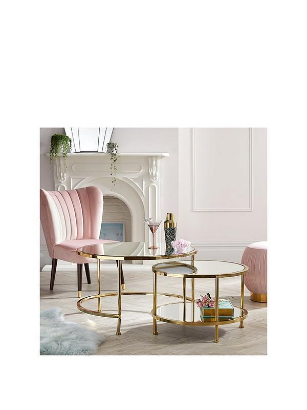 Michelle Keegan Home Aruba Nest Coffee Tables Very Co Uk