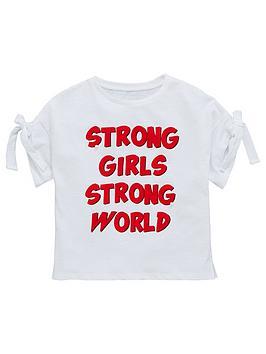 v-by-very-girls-slogan-pearl-t-shirt-white