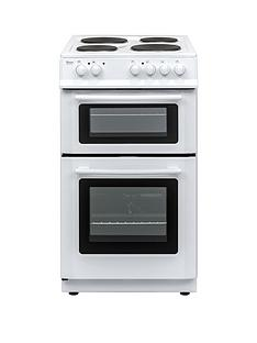 Swan SX15811W 50cm Wide Freestanding Twin Cavity Electric Cooker