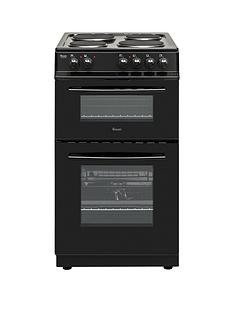 Swan SX15811B 50cm Wide Freestanding Twin Cavity Electric Cooker