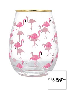 creative-tops-ava-amp-i-flamingos-stemless-wine-glass