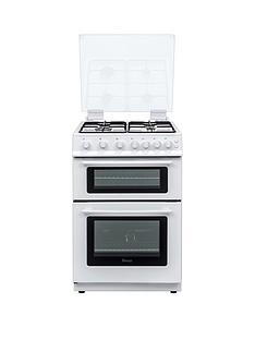 Swan SX15861W 60cm Wide Freestanding Gas Double Oven Cooker