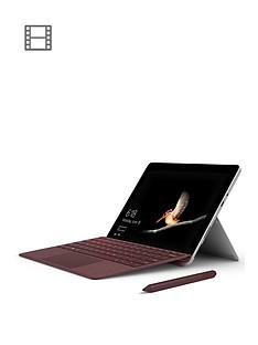 microsoft-surface-go-intelreg-pentiumtrade-gold-processor-4415y-4gbnbspramnbsp64gbnbspemmc-ssdnbsp10-inch-nbsptouchscreen-2-in-1-laptop-with-type-cover-nbspandnbspoptional-microsoft-office-365-home