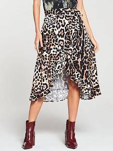 v-by-very-printed-frill-wrap-skirt-animal-print