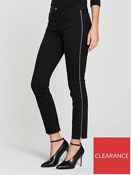 karen-millen-side-zip-leg-skinny-jean