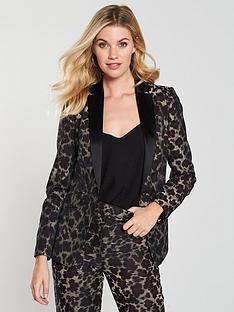 karen-millen-leopard-jacquard-tuxedo-jacket-printed
