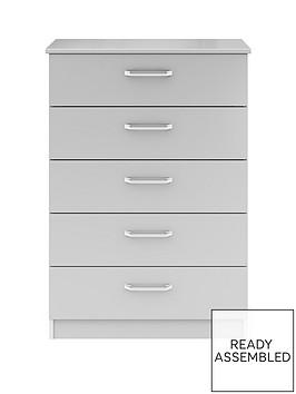 sanford-ready-assembled-high-gloss-5-drawer-chest